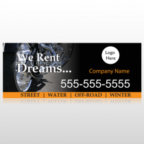Rent Dreams 109 Custom Banner