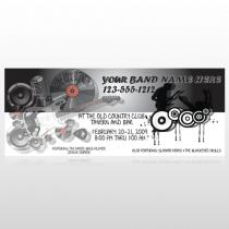 Silhouette Band 366 Custom Banner