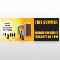 Television 525 Custom Banner