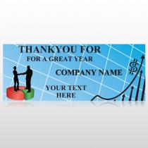 Pie Graph Arrows 05 Banner