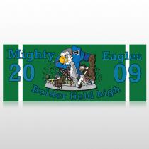 Green 50 Banner