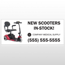 New Scooter 100 Custom Banner