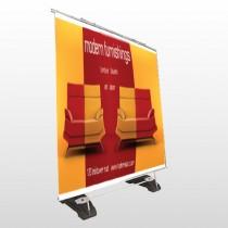 Art Furnishing 535 Exterior Pocket Banner Stand