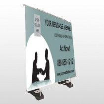 Bank 174 Exterior Pocket Banner Stand