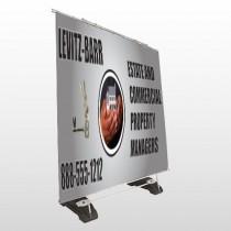 Bar 362 Exterior Pocket Banner Stand