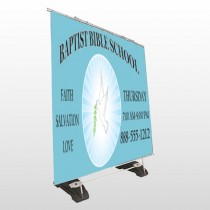 Bible Dove 162 Exterior Pocket Banner Stand