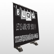 Blog Line 430 Exterior Pocket Banner Stand