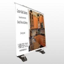 Cabinet 241 Exterior Pocket Banner Stand