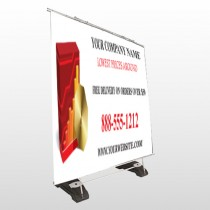 CD  And Graph 147 Exterior Pocket Banner Stand