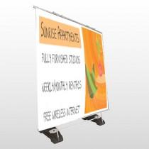 Chair Plan App 536 Exterior Pocket Banner Stand