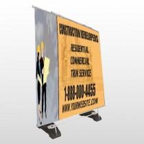 Contractors 645 Exterior Pocket Banner Stand