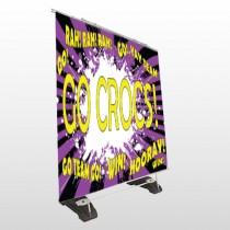 Crocs 42 Exterior Pocket Banner Stand