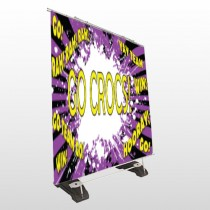Crocs 54 Exterior Pocket Banner Stand