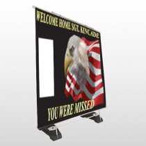 Eagle Flag 307 Exterior Pocket Banner Stand