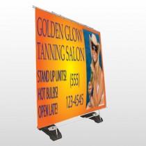 Golden Glow 491 Exterior Pocket Banner Stand
