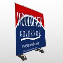 Governor 308 Exterior Pocket Banner Stand