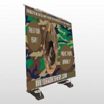Hunt Turkey 409 Exterior Pocket Banner Stand