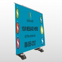 Insurance 176 Exterior Pocket Banner Stand