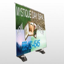 Mystique Spa 492 Exterior Pocket Banner Stand