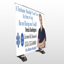 Nutrititionist 46 Exterior Pocket Banner
