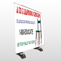 Pencil Chair 159 Exterior Pocket Banner Stand