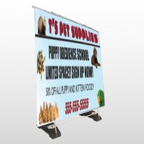 Pet Supplies 305 Exterior Pocket Banner Stand