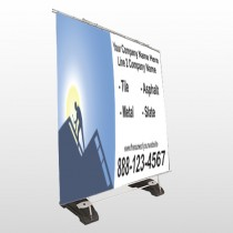 Roofing 258 Exterior Pocket Banner Stand