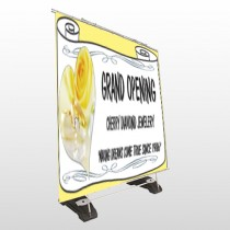 Rose Rings 396 Exterior Pocket Banner Stand