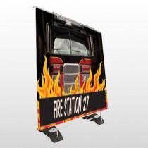 Safety Program 427 Exterior Pocket Banner Stand