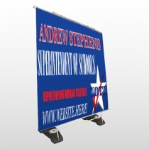 Superintendent 306 Exterior Pocket Banner Stand