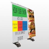 Sandwich 375 Exterior Pocket Banner Stand