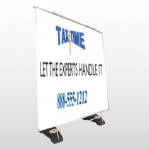 Tax Time 171 Exterior Pocket Banner Stand