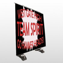 Team 43 Exterior Pocket Banner Stand