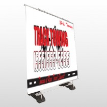 Towing 126 Exterior Pocket Banner Stand
