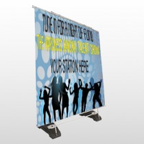 Talent Show 440 Exterior Pocket Banner Stand