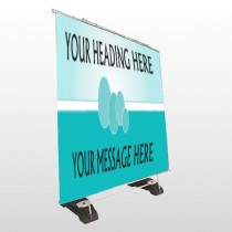 Circles 141 Exterior Pocket Banner Stand