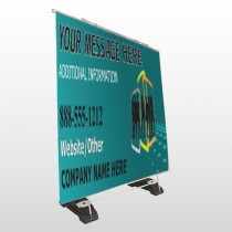 Fashion Models 180 Exterior Pocket Banner Stand