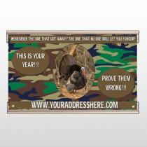 Hunt Turkey 409 Track Banner