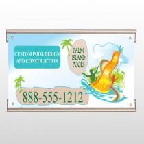 Palm Island Pool 534 Track Banner