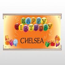 Birthday Balloons 185 Track Banner