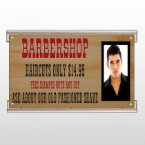 Barbershop Cuts 287 Track Sign