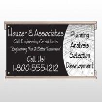 Black Planning 218 Track Sign