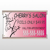 Cherry Salon 288 Track Sign