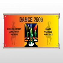Dance Disco 518 Track Sign