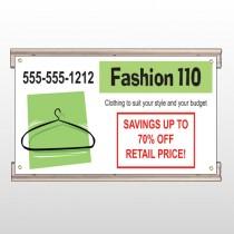 Fashion Hanger 526 Track Sign