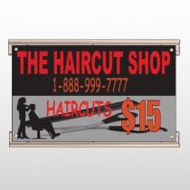 Haircut Scissors 644 Track Sign