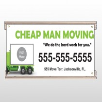 Moving 121 Track Sign