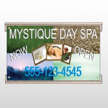 Mystique Spa 492 Track Sign