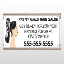 Pretty Girl Hair 290 Track Sign