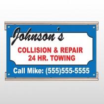 Repair 124 Track Sign